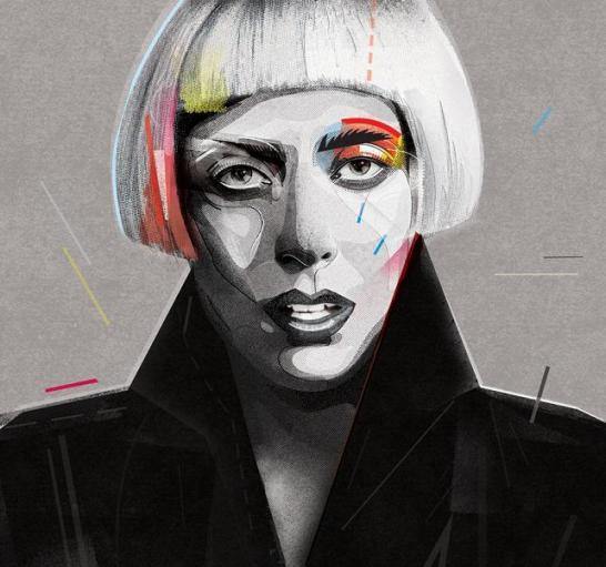 Lady Gaga Zaneta Antosik - Kopia