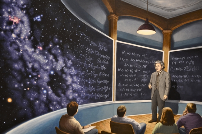 Robert_Gonsalves_Chalkboard_Universe
